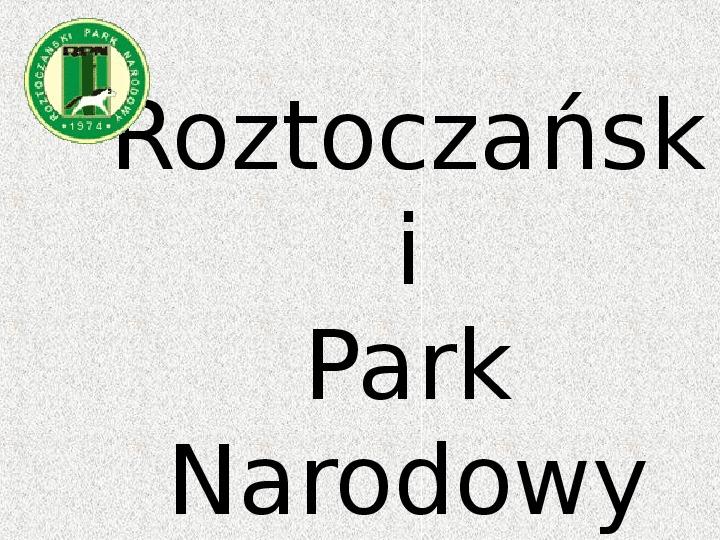 Parki Narodowe - Slajd 86