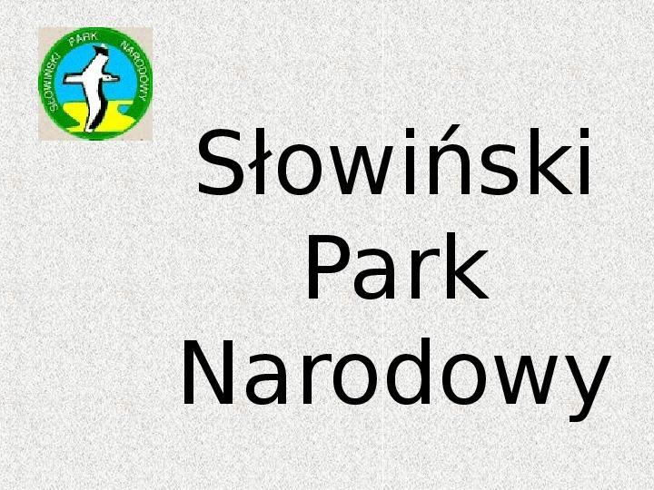 Parki Narodowe - Slajd 111
