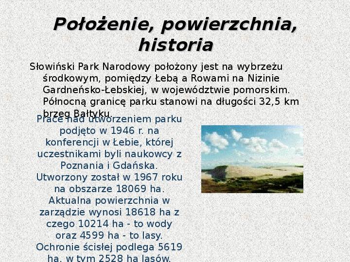 Parki Narodowe - Slajd 112