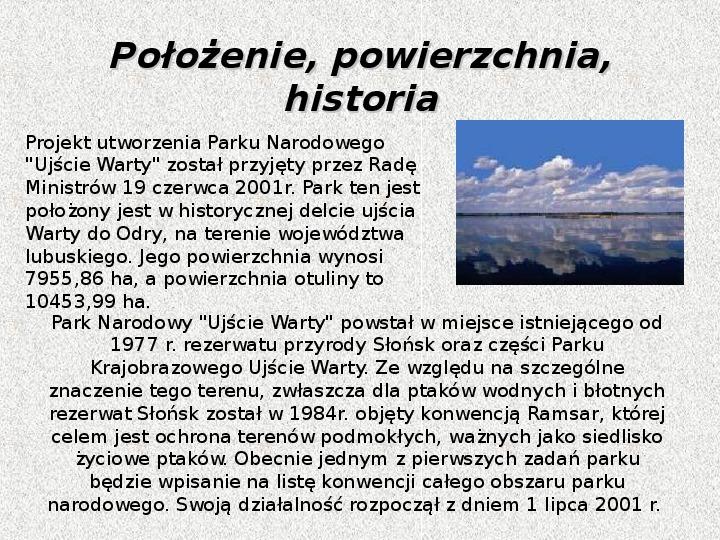 Parki Narodowe - Slajd 124