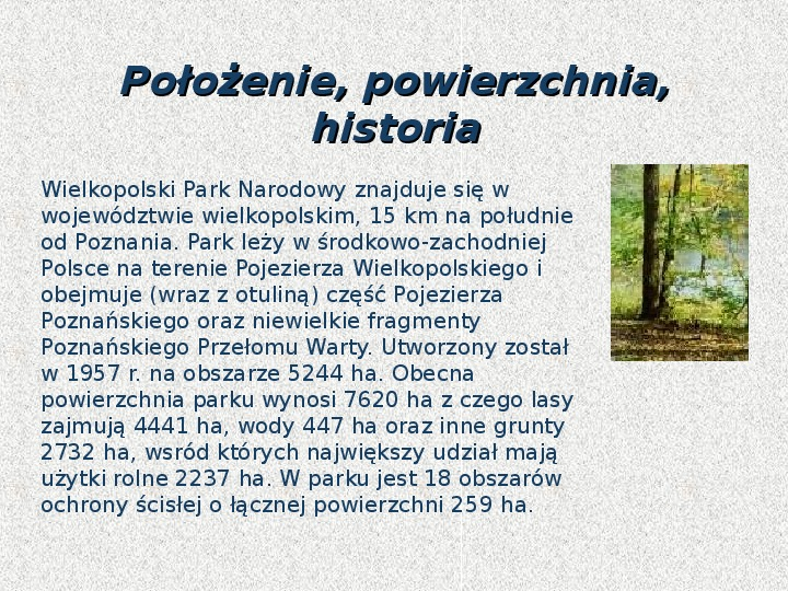 Parki Narodowe - Slajd 131