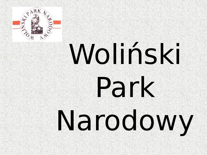 Parki Narodowe - Slajd 143