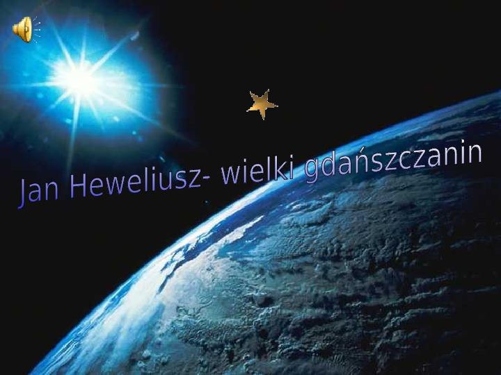 Jan Heweliusz - Slajd 1