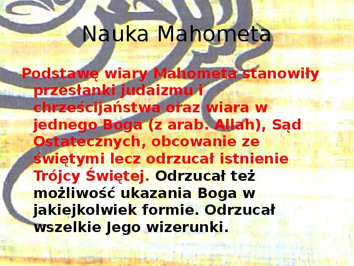Arabowie i świat islamu - Slajd 3
