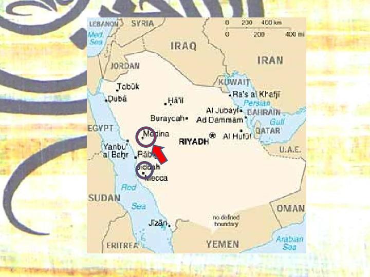Arabowie i świat islamu - Slajd 8