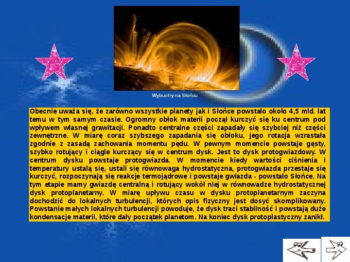 Układ Słoneczny - Slajd 2