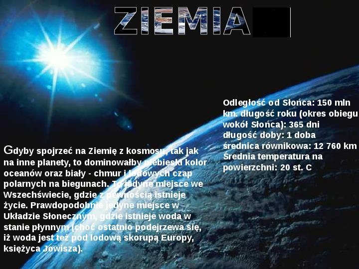 Układ Słoneczny oraz Mikołaj Kopernik - Slajd 9