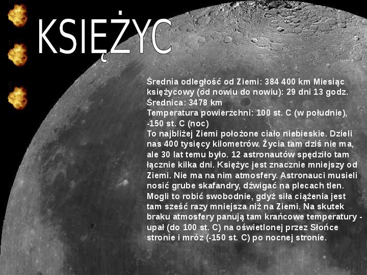 Układ Słoneczny oraz Mikołaj Kopernik - Slajd 10