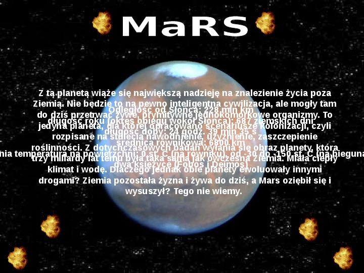 Układ Słoneczny oraz Mikołaj Kopernik - Slajd 11