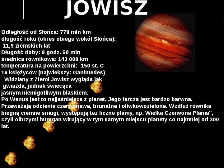 Układ Słoneczny oraz Mikołaj Kopernik - Slajd 12