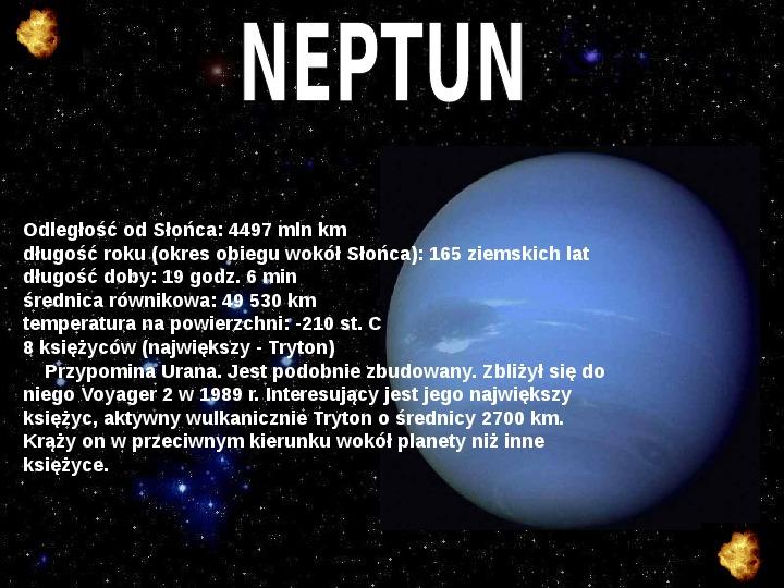 Układ Słoneczny oraz Mikołaj Kopernik - Slajd 15