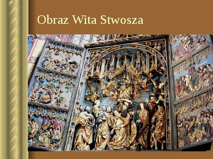 Zwiedzamy Kraków - Slajd 6