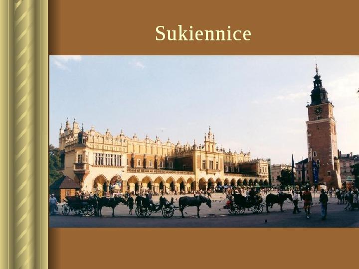 Zwiedzamy Kraków - Slajd 10