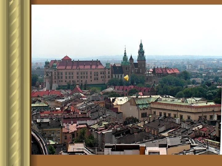 Zwiedzamy Kraków - Slajd 12