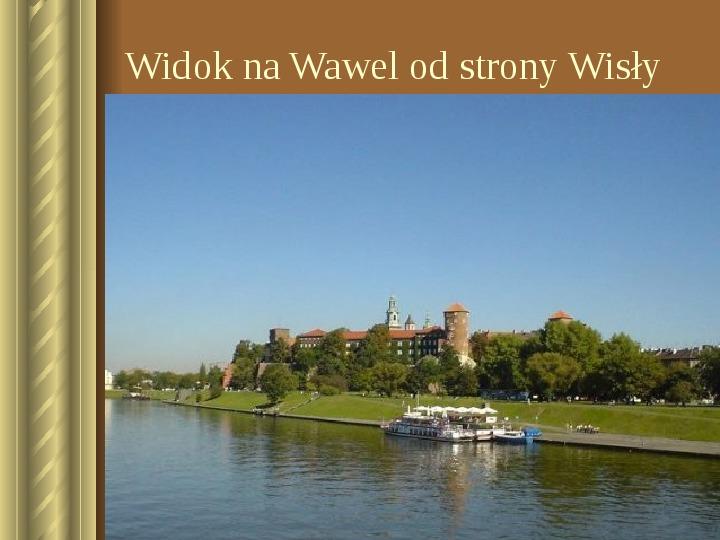 Zwiedzamy Kraków - Slajd 15