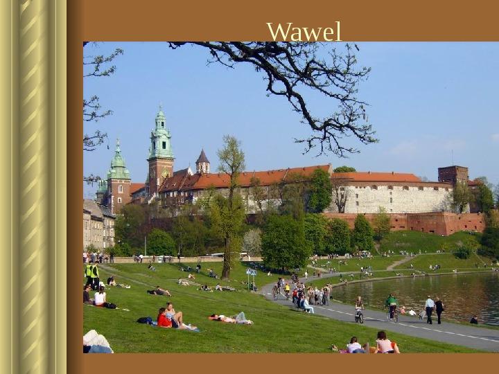 Zwiedzamy Kraków - Slajd 16