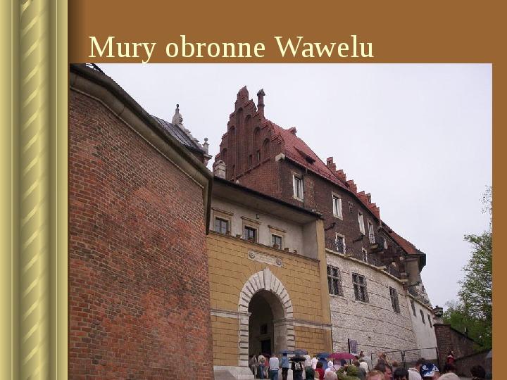 Zwiedzamy Kraków - Slajd 22