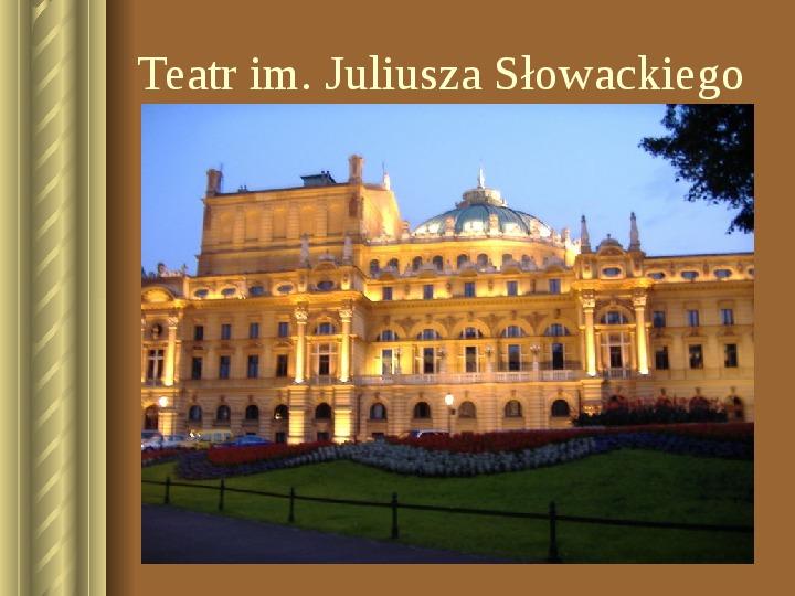 Zwiedzamy Kraków - Slajd 25