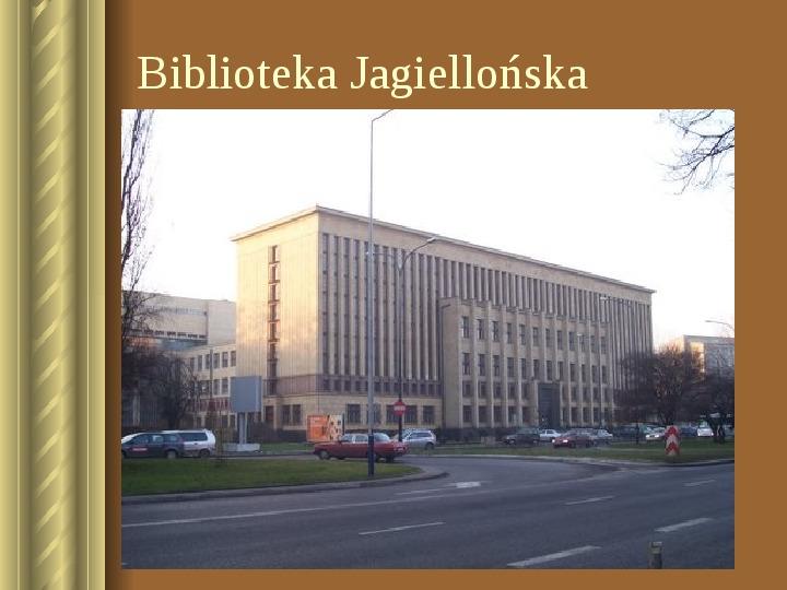 Zwiedzamy Kraków - Slajd 27