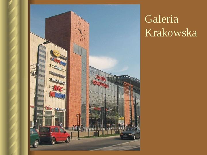 Zwiedzamy Kraków - Slajd 28