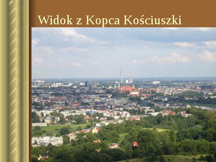 Zwiedzamy Kraków - Slajd 37