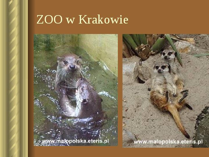 Zwiedzamy Kraków - Slajd 38