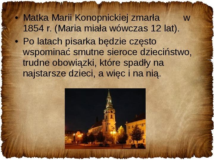 Maria Konopnicka - Slajd 4
