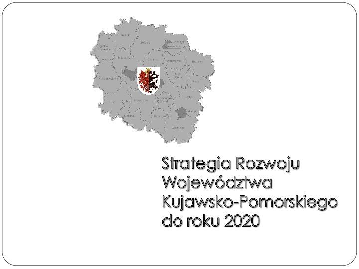 Polityka terytorialna jako instrument rozwoju województwa - Slajd 1