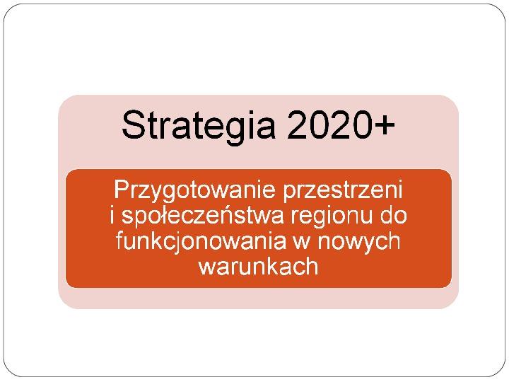 Polityka terytorialna jako instrument rozwoju województwa - Slajd 2