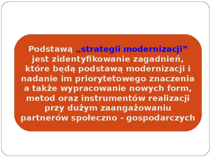 Polityka terytorialna jako instrument rozwoju województwa - Slajd 3