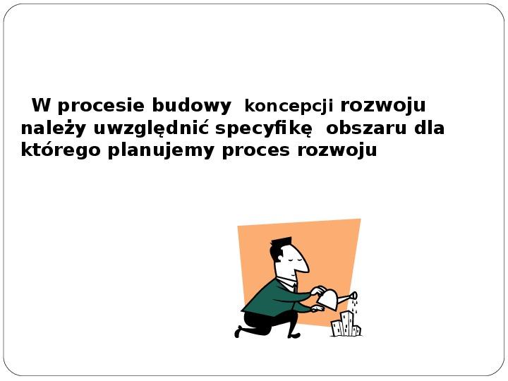 Polityka terytorialna jako instrument rozwoju województwa - Slajd 27