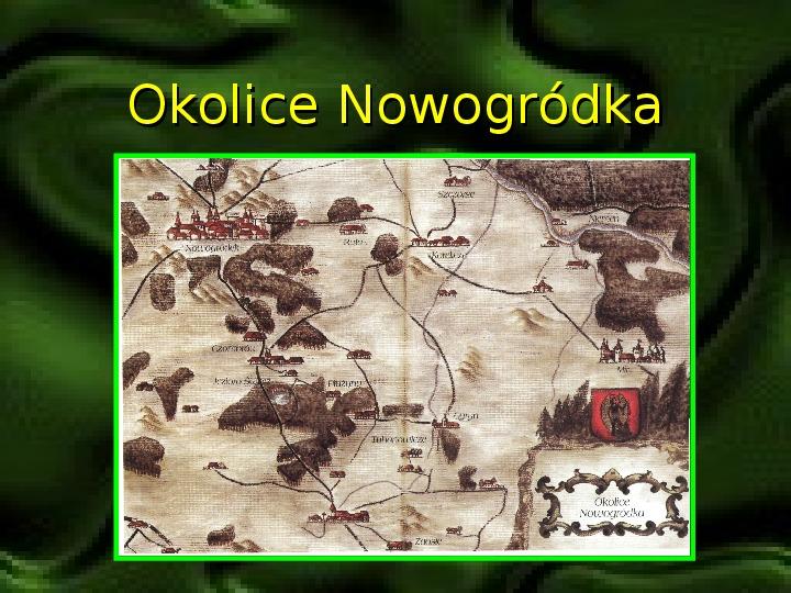 Adam Mickiewicz – znany i nieznany - Slajd 2