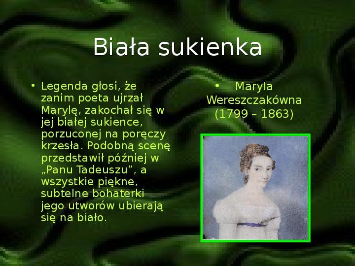 Adam Mickiewicz – znany i nieznany - Slajd 4