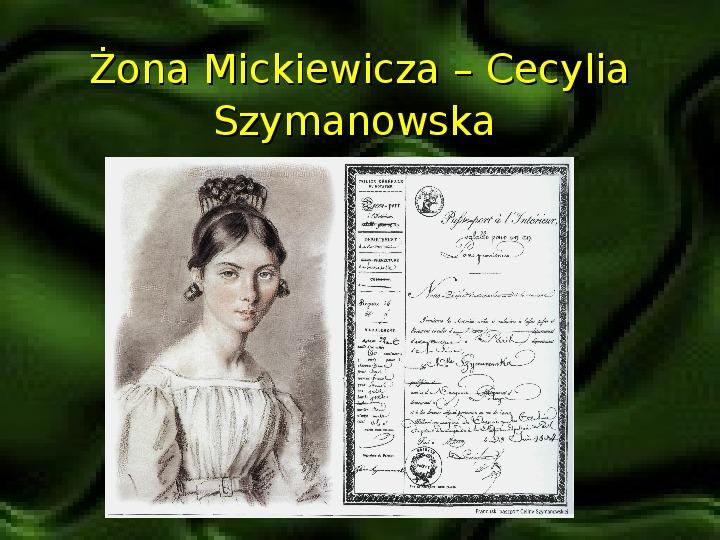 Adam Mickiewicz – znany i nieznany - Slajd 7