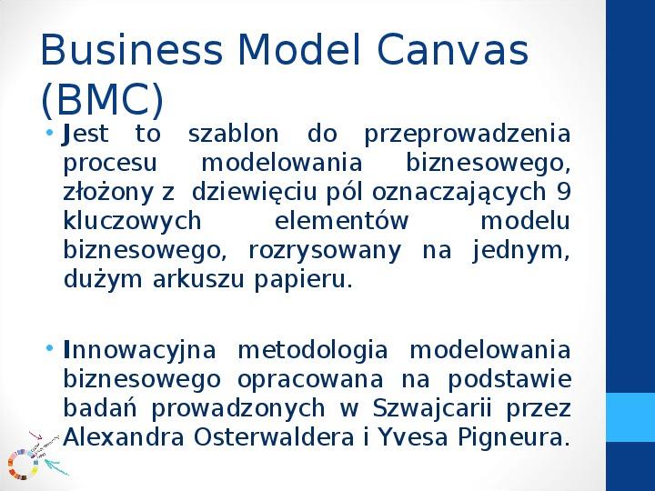 Modele biznesowe - Slajd 5