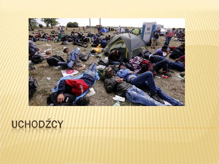 Uchodźcy - Slajd 1