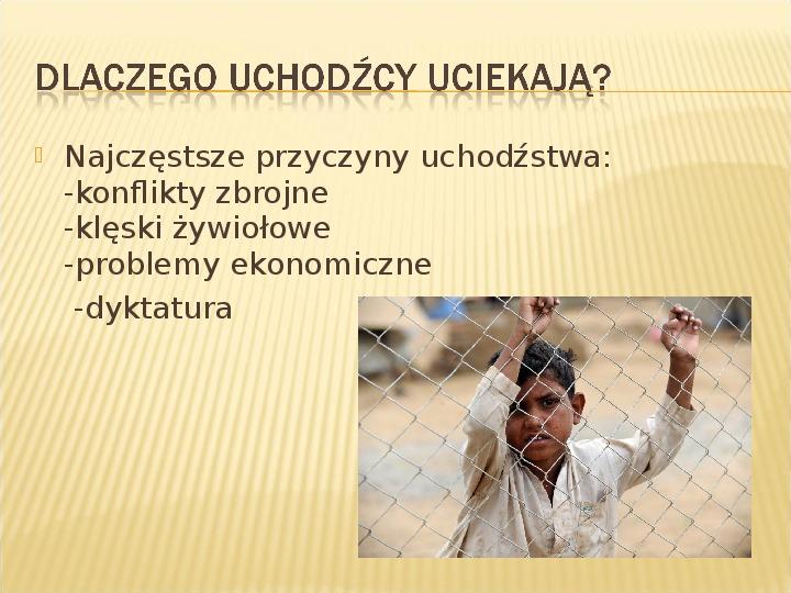 Uchodźcy - Slajd 2