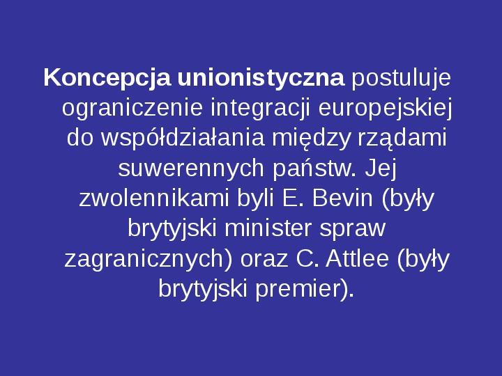 Integracja europejska - Slajd 5