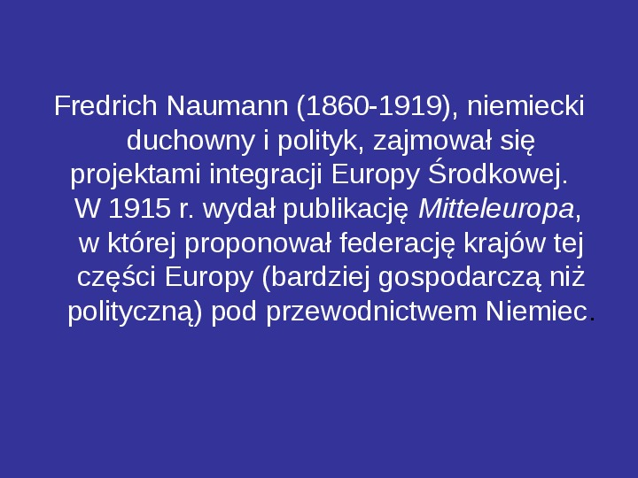 Integracja europejska - Slajd 13