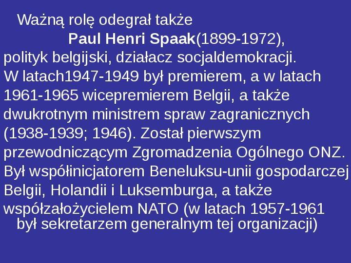Integracja europejska - Slajd 22
