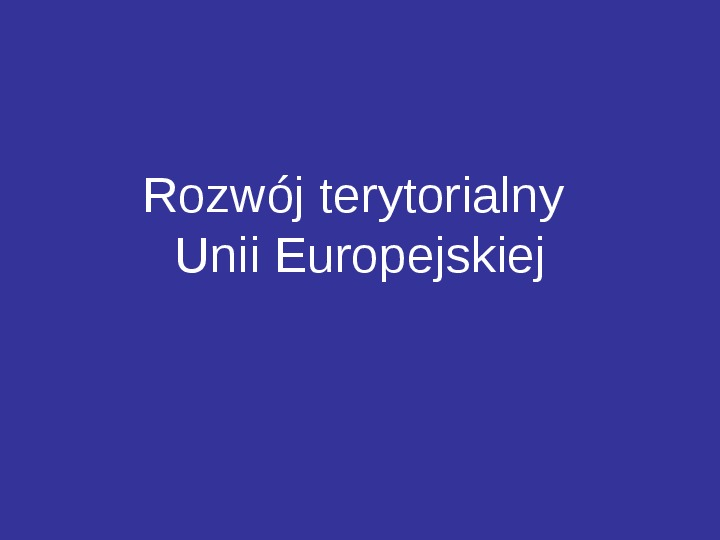Integracja europejska - Slajd 24