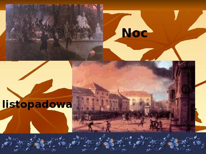 Powstanie listopadowe - Slajd 4