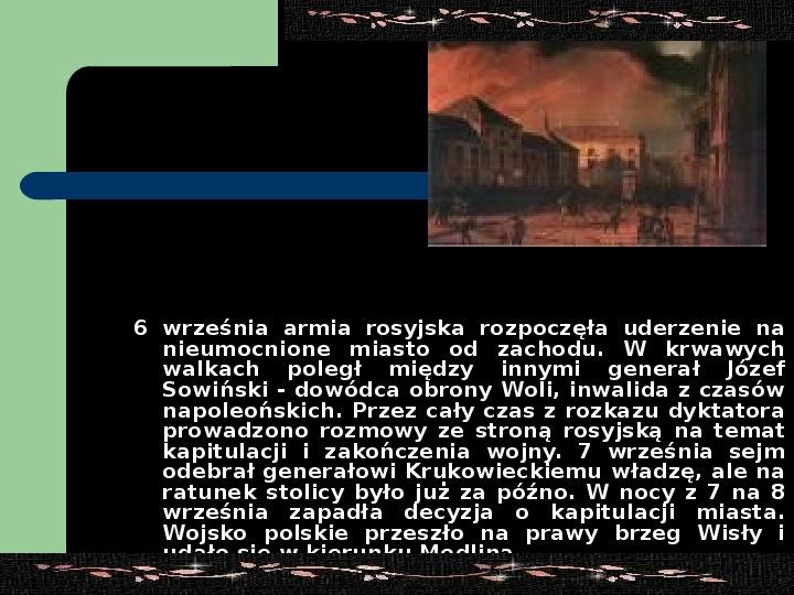 Powstanie listopadowe - Slajd 15