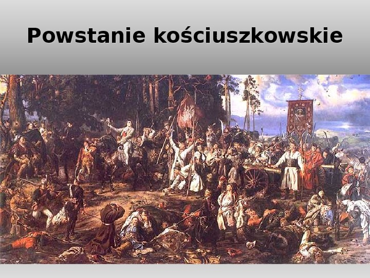 Powstanie listopadowe Wiosna Ludów - Slajd 10