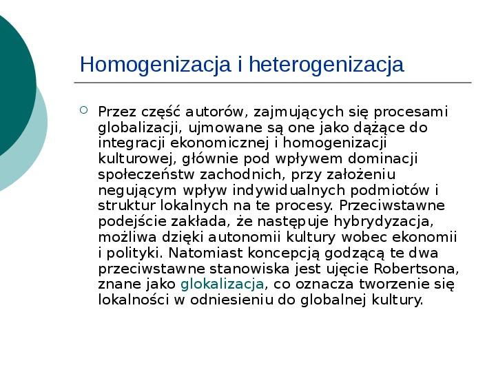 Globalizacja - Slajd 6