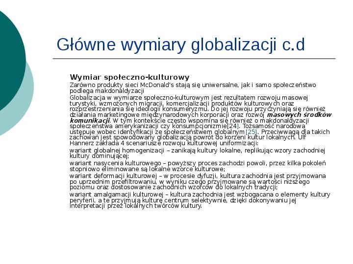 Globalizacja - Slajd 8