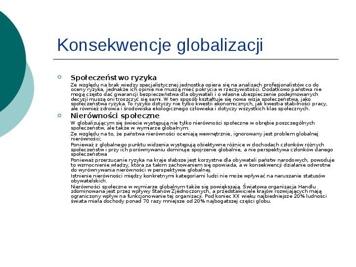 Globalizacja - Slajd 10