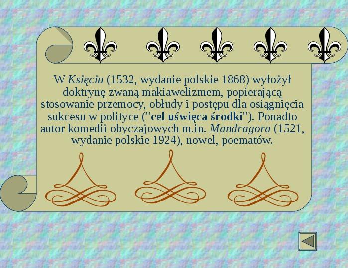 Renesans - Slajd 33
