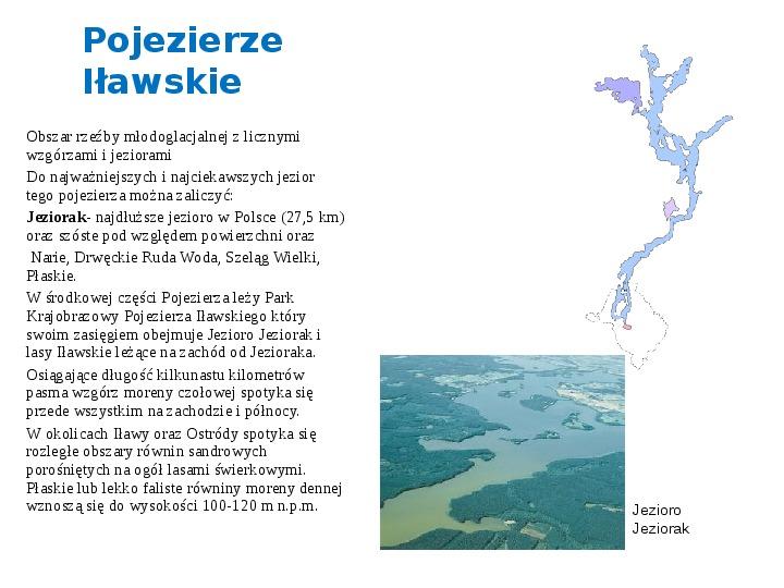 Zlodowacenia w Polsce oraz formy polodowcowe - Slajd 18