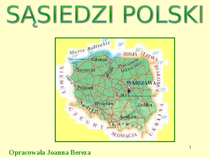 Sąsiedzi Polski - Slajd 1